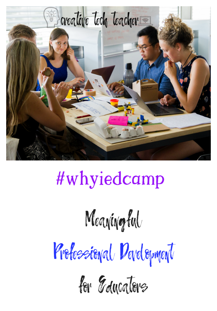 EdCamp changed the way I thought about professional development. EdCamp builds community and helps educators collaborate for the sake of improving their practice and helping kids. Learn more!