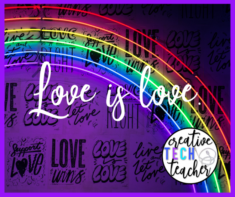 rainbow background love is love lgtbq youth